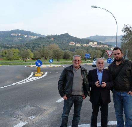 Terminati i lavori della rotatoria a Bagno di Gavorrano Pianigiani ...